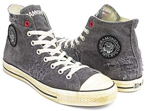 converse (product) red all star hi [ramones] (100733) コンバース プロダクト レッド オールスター ハイ 「ラモーンズ」