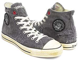 converse (product) red all star hi [ramones] (100733) コンバース プロダクト レッド オールスター ハイ 「ラモーンズ」