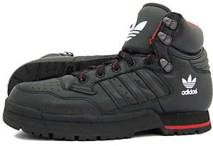 adidas centennial mid boot [black1/black1/midred] (043953) アディダス センテニアル ミッド ブーツ 「黒/赤」