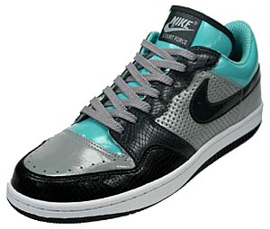 nike court force low [m.gry/anthractie-black] (313561-005) ナイキ コートフォース ロー 「黒ヘビ/グレー/青」