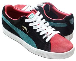 puma clyde [black/green/red] (181632-04) プーマ クライド 「黒/緑/赤 グッチ・カラー」