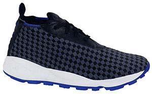 nike air footscape woven chukka [black/grey/blue] (315606-002) ナイキ エアフットスケープ ウーブン チャッカ 「黒/灰/青」