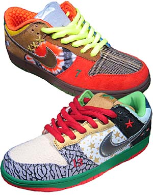 nike dunk low pro sb [what the dunk !] (318403-141) ナイキ ダンク ロー プロ SB 「WHAT THE DUNK !」