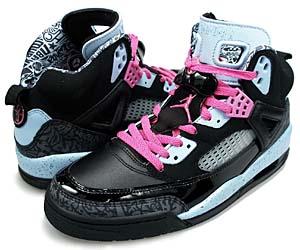 nike wmns air jordan spiz'ike [black/pink] (317574-062) ナイキ エアジョーダン スパイズイック 「黒/ピンク」