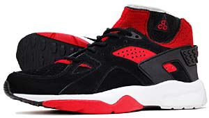 nike air mowabb [black/varsity red-neutral grey] (312037-061) ナイキ エアモワブ 「黒/赤」