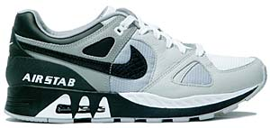 nike air stab [white/black-light chacoal-matt silver] (316402-101) ナイキ エアスタブ 「白/黒/シルバー」