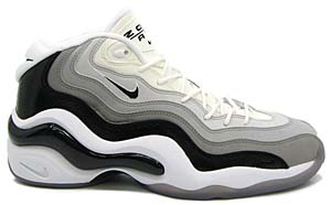 nike air zoom flight 96 [white/black-neutral gray-matt silver] (317980-101) ナイキ エアズームフライト96 「グレーグラデ」