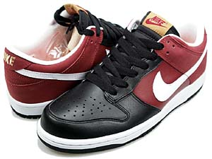 nike dunk low cl [nike box/t.red/white-black] (318020-611) ナイキ ダンク ロー CL 「ナイキボックス/赤白黒」