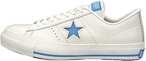 converse one star ox [white/light blue] (32345706) コンバース ワンスター OX 「ホワイト/ライトブルー」