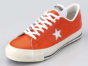 CONVERSE ONE STAR OX [ORANGE] 32345333