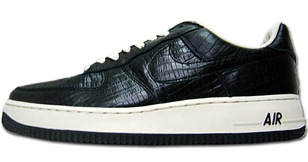 NIKE x HTM AIR FORCE 1 LOW [PAUL BLACK/BLACK-NET] 305895-002