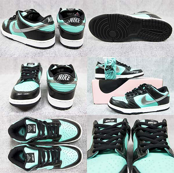 NIKE DUNK LOW PRO SB TIFFANY DIAMOND [AQUA/CHROME] 304292-402