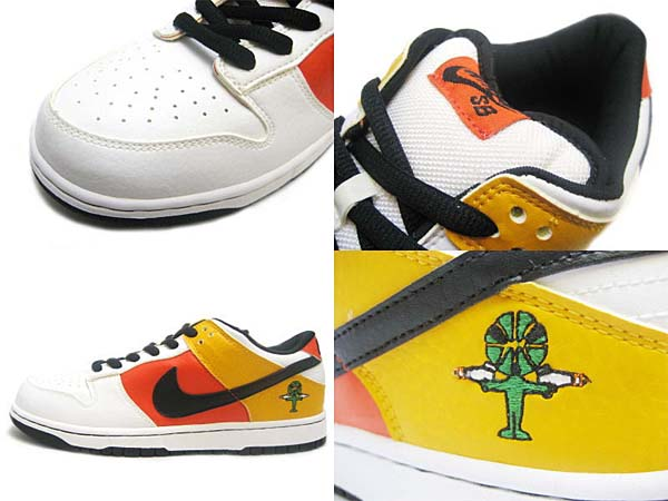 NIKE DUNK LOW PRO SB ROSWELL RAYGUNS [AWAY] 304292-802