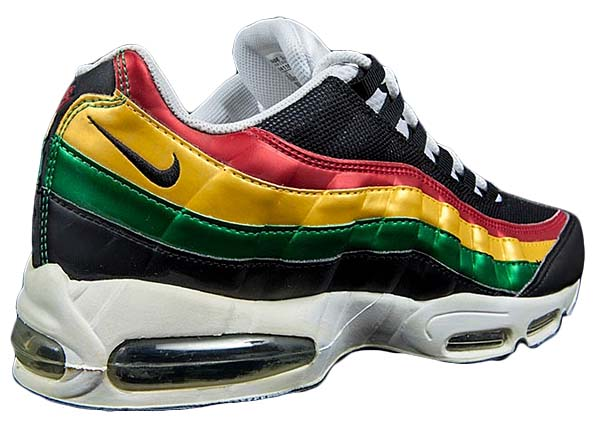 NIKE AIR MAX 95 [WHT/BLK-CLSC GRN-VRSTY MAIZE] 306251-102