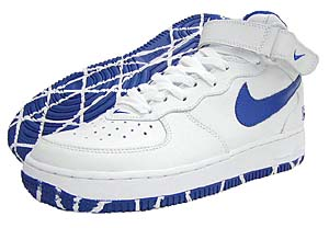 NIKE AIRFORCE1 MID NYC [White/Blue] 306353-147