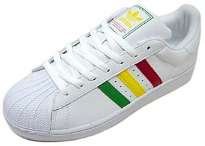 adidas SUPERSTAR2 [RASTA WHITE] 133712