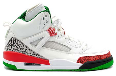NIKE AIR JORDAN SPIZ'IKE LS [WHITE/VARSITY RED-C GREY-CLS G] 315371-161