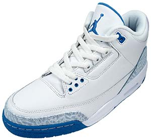 NIKE NIKE WMNS AIR JORDAN 3 RETRO [WHITE/BLUE]