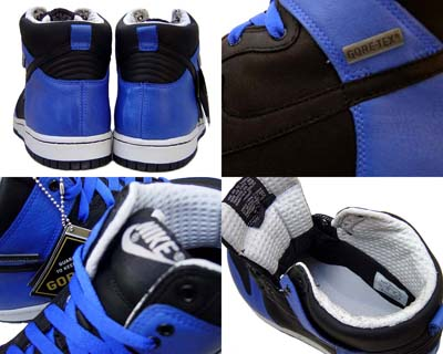 NIKE DUNK HI PREMIUM GORE-TEX [V.ROYAL/BLACK-N.GRAY] 写真1