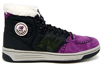 new balance A03 BP [BLACK/PURPLE] 写真1