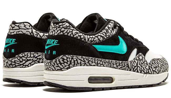 NIKE AIR MAX 1 PREMIUM atmos [BLACK / CLEAR JADE-WHITE] 312748-031