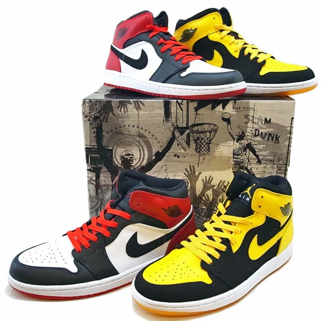NIKE AIR JORDAN 1 RETRO BMP [OLD LOVE NEW LOVE]  316132-991