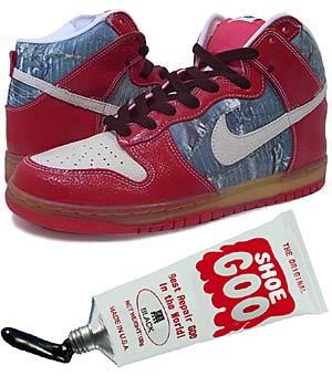 nike dunk high premium sb [shoe goo] (313171-012) ナイキ ダンク ハイ プレミアム SB 「シューグー」
