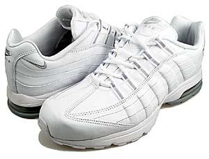 nike wmns air max 95 zen [white/white-m.silver] (313866-112) ナイキ エアマックス95 ZEN 「白/銀」