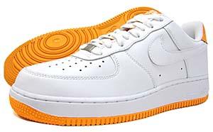 nike air force 1 low 07 [white/orange peal] (315122-117) ナイキ エアフォース1 ロー 07 「白/オレンジ」