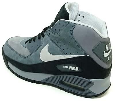 nike air max90 boots [stealth/white/flint grey] (316339-012) ナイキ エアマックス90 ブーツ 「グレー」