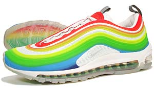 nike air max 97 lux [rainbow/metallic silver-white] (316783-901) ナイキ エアマックス97 LUX 「レインボー」