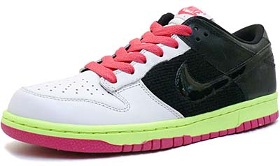 nike wmns dunk low 08 [gray/black/pink] (317813-004) ナイキ ダンク ロー 08 「グレー/ブラック/ピンク」