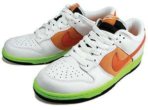 nike wmns dunk low [orange/lime green] (317813-181) ナイキ ダンク ロー 「オレンジ/グリーン」