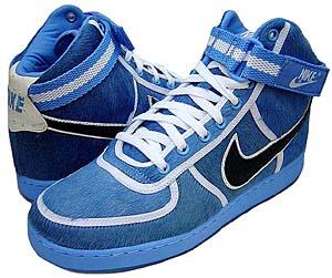 nike vandal high supreme [nba pack | dk crystal blue/black] (318330-401) ナイキ バンダル ハイ サプリーム 「NBAパック/青ハラコ」