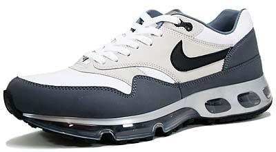 nike air max 1 360 le [white/black-flint grey] (318510-101) ナイキ エアマックス1 360 LE 「白/グレー」