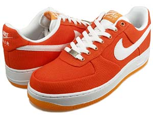 nike wmns air force 1 low canvas [orange] (318636-811) ナイキ エアフォース1 ロー キャンバス 「オレンジ」