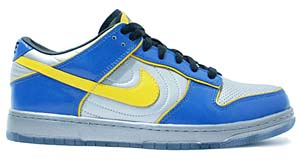 nike dunk low supreme '08 [blue/silver/yellow] (318643-071) ナイキ ダンク ロー サプリーム '08 「青/銀/黄色」