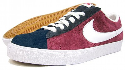 nike sb blazer low sb [team red/white] (318960-611) ナイキ SB ブレザーロー SB 「赤/白」