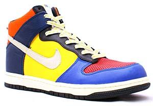 nike dunk high supreme [yellow/be true dunk] (321762-611) ナイキ ダンク ハイ サプリーム 「イエロー/ビー・トゥルー・ダンク」