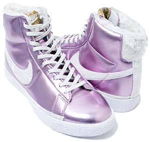 nike wms star classic high [pink illusion/white-metallic gold] (324667-611) ナイキ スタークラシック ハイ 「メタリックピンク/ファー」
