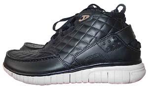nike free hybrid boot premium [black/white] (329889-001) ナイキ フリー ハイブリッド ブーツ プレミアム 「黒/白/キルティング」