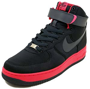 nike wmns air force 1 high [black/anthracite-berry] (334031-001) ナイキ エアフォース1 ハイ 「ブラック/ベリー」