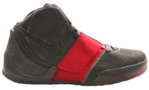 nike flight dunk hoop supreme [dark stucco/atom red-clay] (336122-062) ナイキ フライト ダンク フープ サプリーム 「黒/赤」
