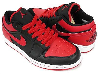 nike air jordan 1 phat low [black/varsity red-white] (338145-061) ナイキ エアジョーダン1 ファット ロー 「黒/赤」