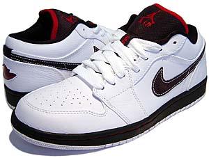 nike air jordan 1 phat low [white/varsity red-black] (338145-161) ナイキ エアジョーダン1 ファット ロー 「白/赤/黒」
