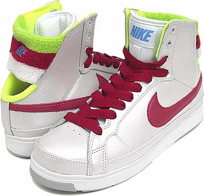 nike wmns air troupe mid swt [white/red/yellow] (344307-161) ナイキ エア トゥループ ミッド SWT 「白/赤/黄」