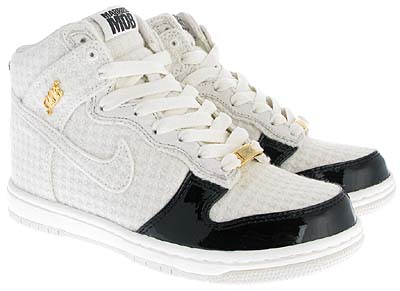 nike wms dunk high supreme [married to the mob / tire zero] (345825-111) ナイキ ダンク ハイ サプリーム 「MARRIED TO THE MOB / Tire0」