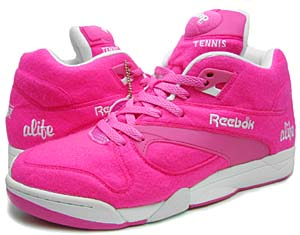 alife × reebok court victory pump [ball pink/wht-blk-neon yellow] (6-712039) エーライフ×リーボック コート ヴィクトリー ポンプ 「ピンク」