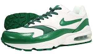 nike air burst [white/pine green-noble green] (609057-131) ナイキ エアバースト 「ホワイト/グリーン」