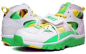 nike air trainer huarache [white/green] (679083-311) ナイキ エアトレーナーハラチ 「白/緑」